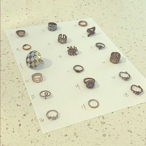 Rings! All sizes